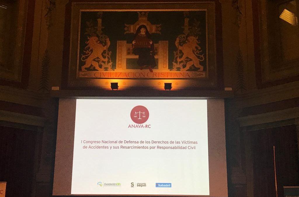 Delgado Garrucho Abogados en el Congreso Nacional de Defensa de los Derechos de las Víctimas de Accidentes