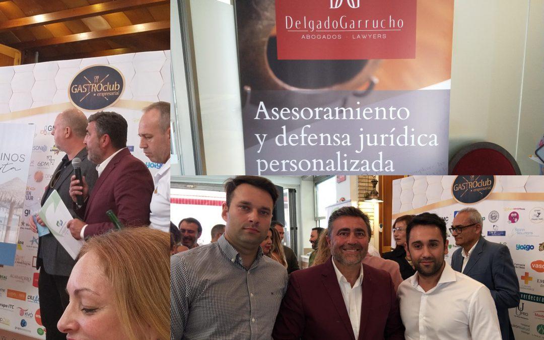 DELGADO GARRUCHO ABOGADOS, PRESENTE EN EL ALMUERZO DE TRABAJO ORGANIZADO POR EL CIRULO DE EMPRESARIOS DE TORREMOLINOS, I COMIDA NETWORKING